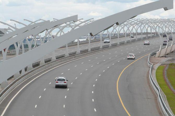 На Широтную магистраль в Петербурге выделят около 10 миллардов рублей