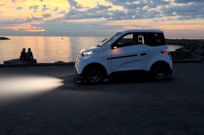 В этом году начнётся выпуск первого российского электромобиля Zetta