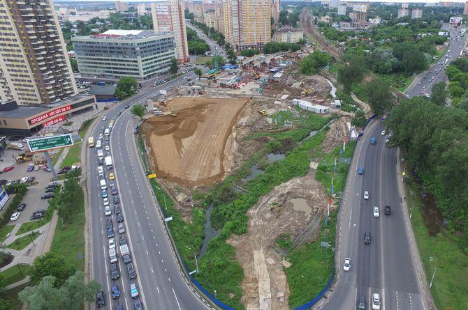 Готовится проект дороги, которая соединит Красногорск с Новорижским шоссе