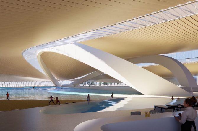 В Москве откроют первый в мире крытый центр для сёрфинга