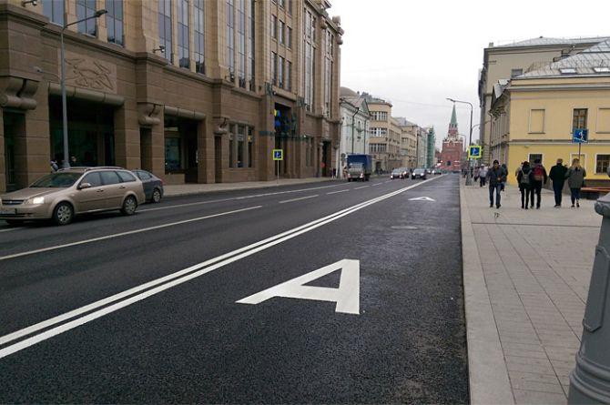 В Москве появятся динамические выделенные полосы