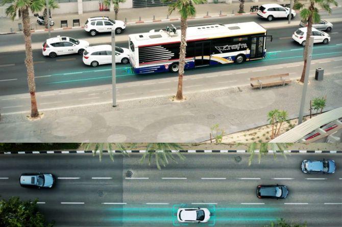 В Тель-Авиве открыли дорогу со встроенной зарядкой для электромобилей