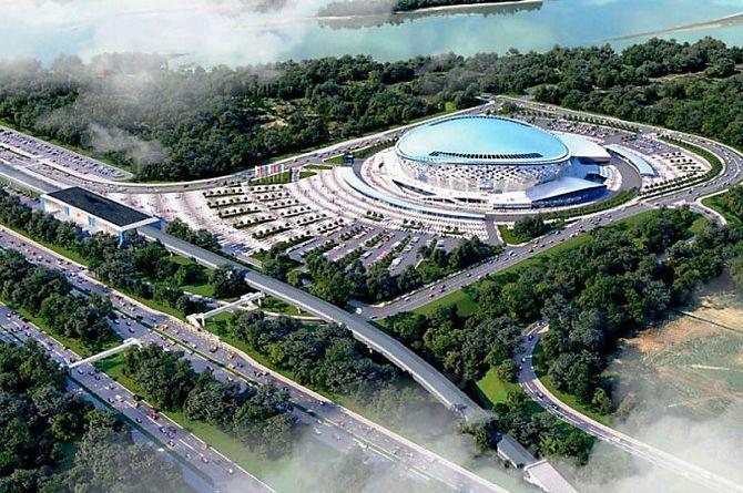 В 2020 году в Новосибирске потратят 2 млрд рублей на дороги вокруг ледовой арены
