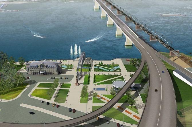 На строительство моста через Обь в Новосибирске будет выделено более 20 миллиардов рублей