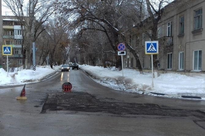 Завершён первый этап строительства дороги по улице Колотилова в Энгельсе