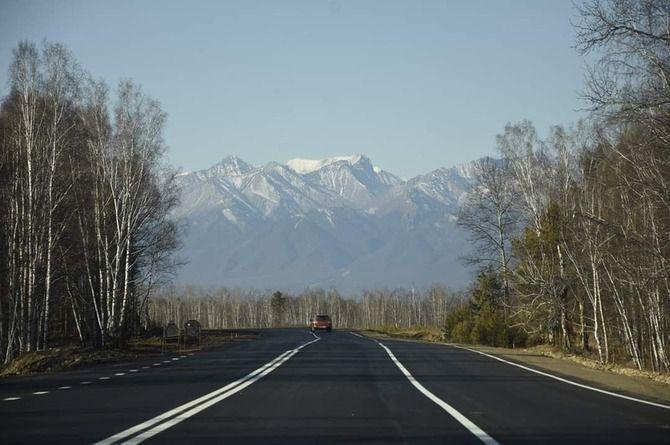 Закончен капитальный ремонт участка дороги до границы с Монголией