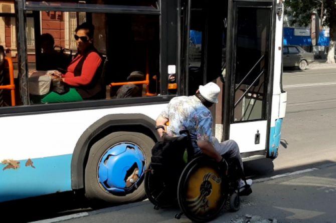 В Минтрансе предлагают помечать транспорт для инвалидов специальным знаком