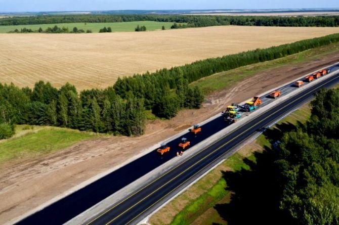 В Брянске и области реконструируют более 25 километров автодороги А-141