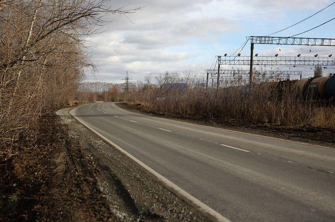 Отремонтирована дорога, соединяющая Омск и посёлок Омский