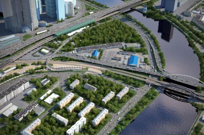 Развязку Северного дублёра Кутузовского проспекта и ТТК начнут строить в 2020 году