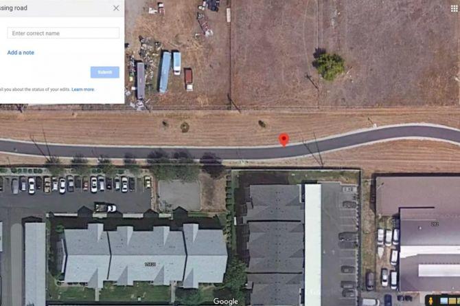 Google разрешил редактировать дороги в своих картах
