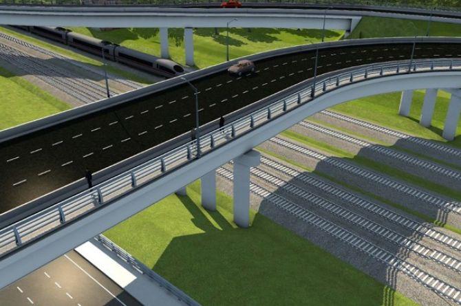В Москве построят два новых путепровода в составе Северо-Восточной хорды