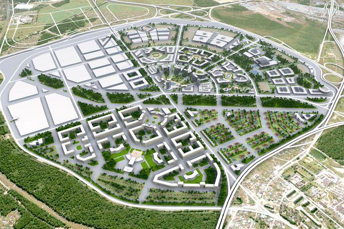 Объявлен конкурс на планировку дорог для нового района Екатеринбурга