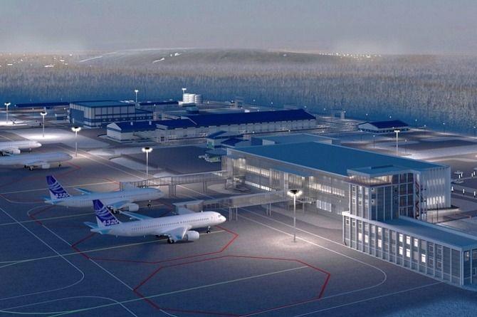В Мирном построят современный аэровокзальный комплекс