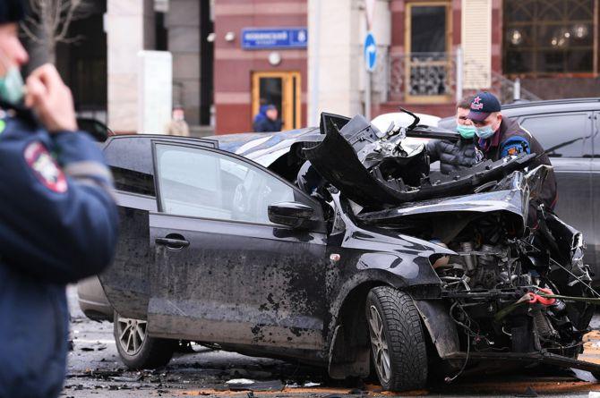 Скорость убивает: в Москве увеличилось количество погибших в ДТП сразу в двух округах