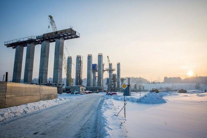 В 2021 году завершится строительство первой очереди Восточного обхода в Новосибирске