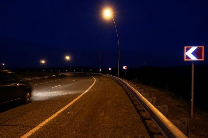 В Красноярске впервые установили импульсные дорожные знаки