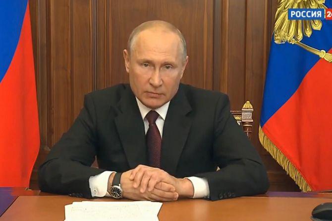Владимир Путин обратился к россиянам: всем детям – по 10 тысяч, для богатых граждан – увеличение налогов