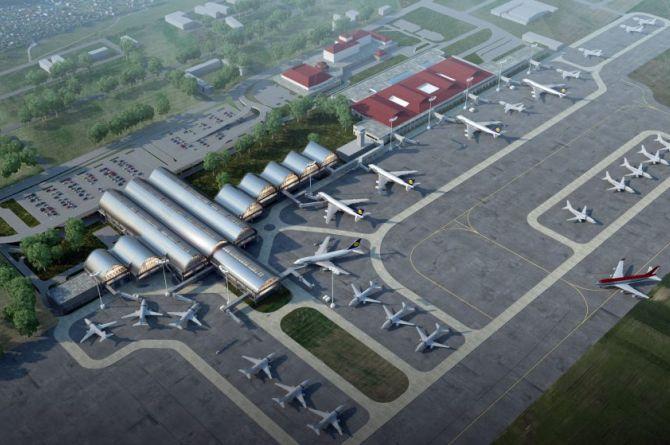 В новом аэропорте Тобольска приступили к бетонированию посадочной полосы