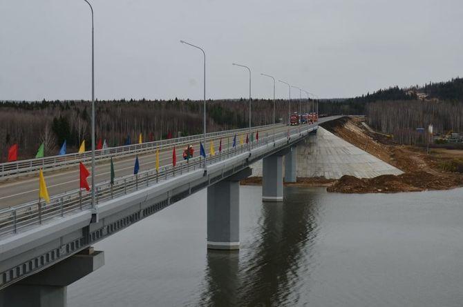 В Караидельском районе Башкирии запустили движение по новому мосту