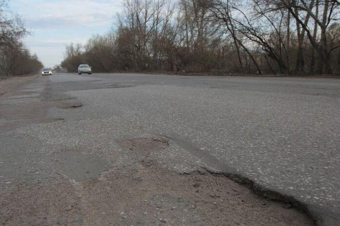 Подрядчик переделает омскую Окружную дорогу, разваливающуюся через год после ремонта