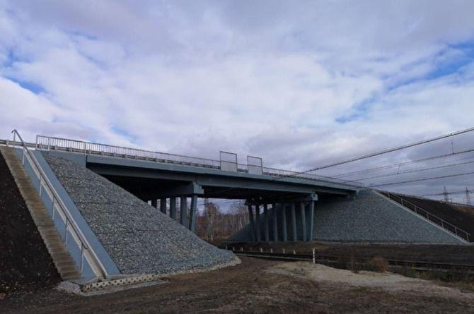 Мост на выезде из Челябинска по Курганскому тракту открыт