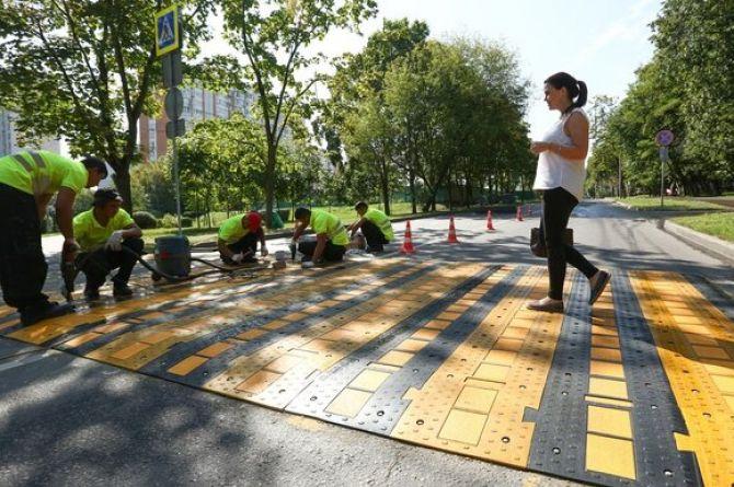 В столице растёт число ДТП с детьми. ГИБДД предлагает устанавливать «приподнятые переходы»