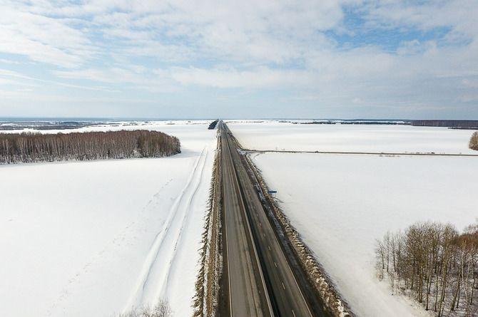 Участок трассы М-5 «Урал» реконструируют за 9,7 миллиардов рублей