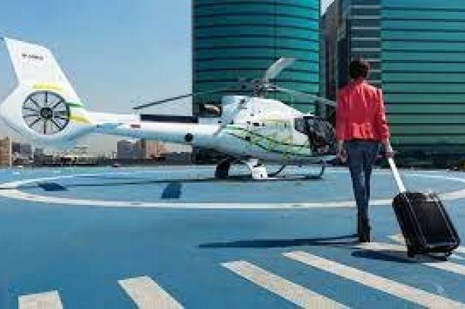 В Сочи планируют запустить вертолётное такси