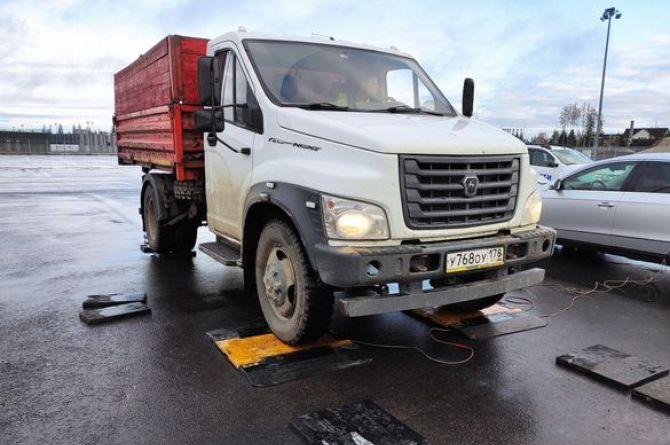 В России испытали новую систему весового контроля для грузовиков