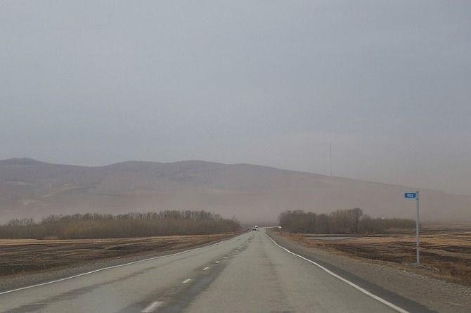 Около 40 километров федеральной трассы Е-257 «Енисей» было отремонтировано в Красноярском крае