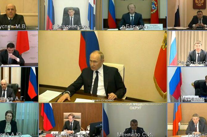 Владимир Путин: «Все соскучились по обычному образу жизни. Но потерпите»