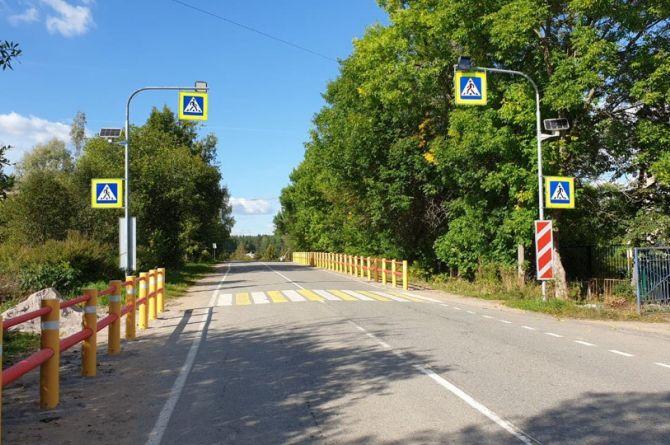 В Ленинградской области установили 70 метров  композитных направляющих устройств КОМПО-ЛАЙН