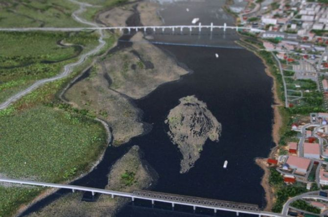 В Благовещенске объявили конкурс на строительство моста за 19 миллиардов рублей