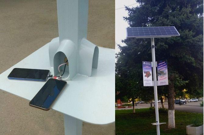 Светят, раздают Wi-Fi и заряжают телефон: в России появятся «умные фонари»