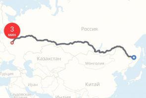Пил много водки и шутил: житель Москвы уехал на такси в Хабаровск за 250 тысяч рублей