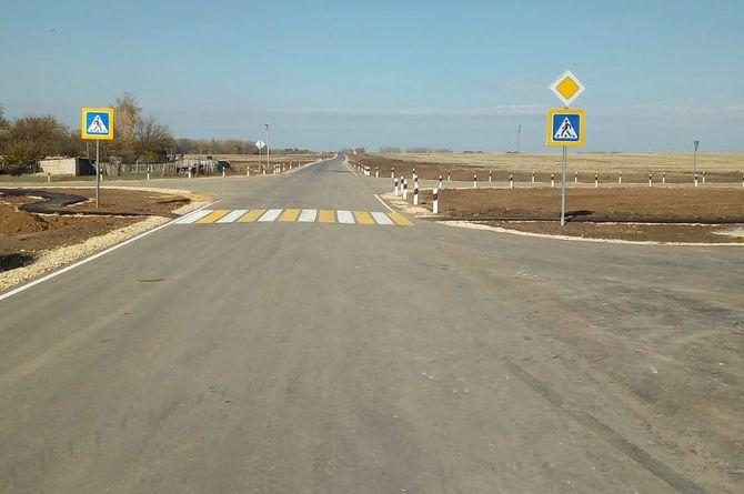 Построена дорога к хутору Коротовскому в Волгоградской области