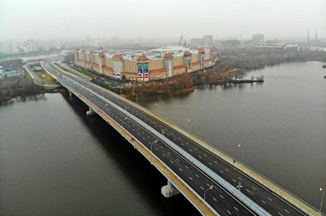 Открыт мост через Кожуховский затон в Москве