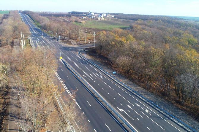 Закончен капитальный ремонт участка трассы М-2 «Крым» в Белгородской области