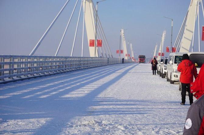 Международный мост Благовещенск — Хэйхэ прошёл испытание и готов ко вводу в эксплуатацию