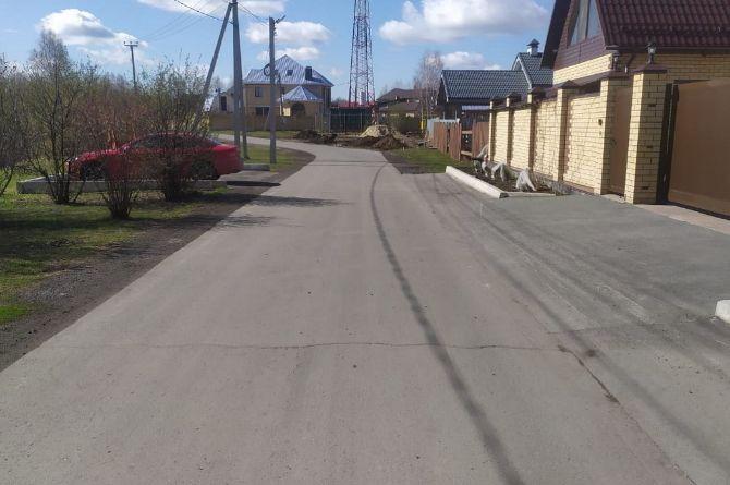 В Тюмени километровую дорогу ремонтируют за 104 миллиона рублей