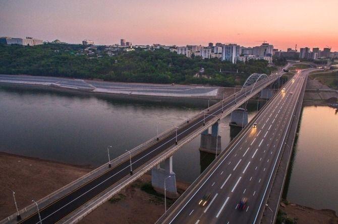 В Уфе ищут подрядчика для строительства нового моста через реку Белую