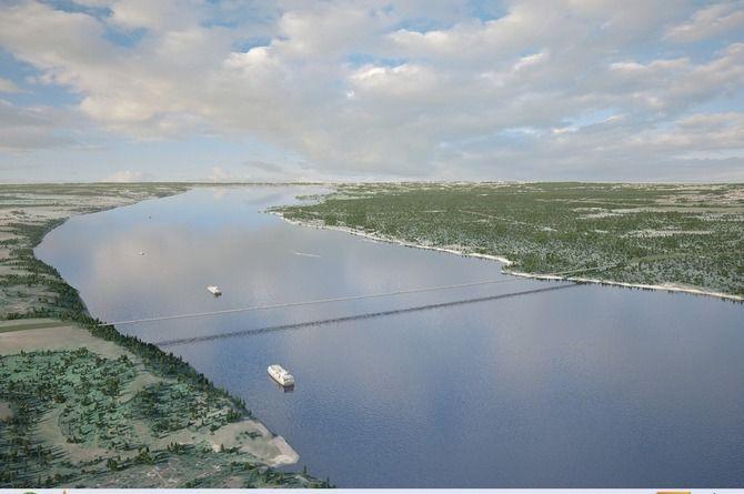 Началось проектирование нового моста через Волгу на трассе М-12