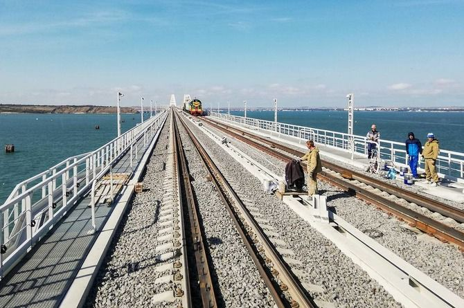 «Мостотрест» займётся и железнодорожной частью Крымского моста