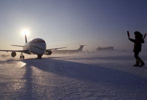 Россия построила в Арктике первую взлётно-посадочную полосу для всех типов самолётов