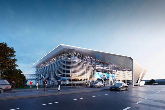 Началось строительство нового терминала в кемеровском аэропорту