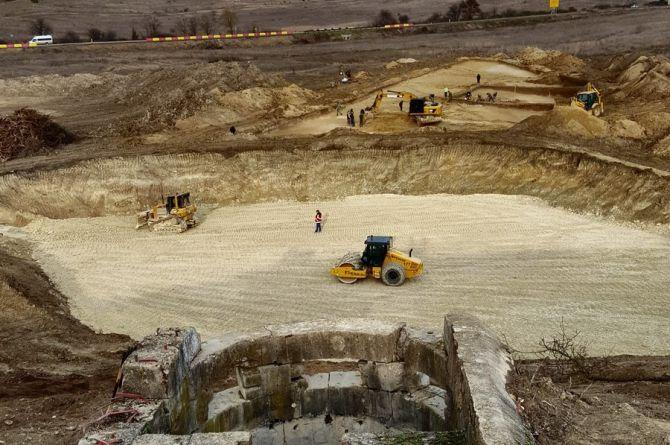 """Начало строительство трассы. Фото: АО """"ВАД"""""""