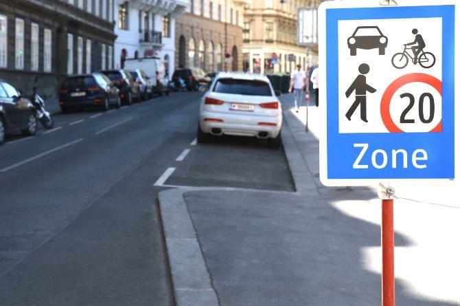 Улицы Вены превращают в полупешеходные «зоны для встреч»