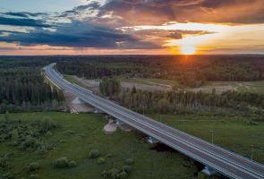 Опорную сеть дорог России решили сформировать к 2021 году, а не к 2035
