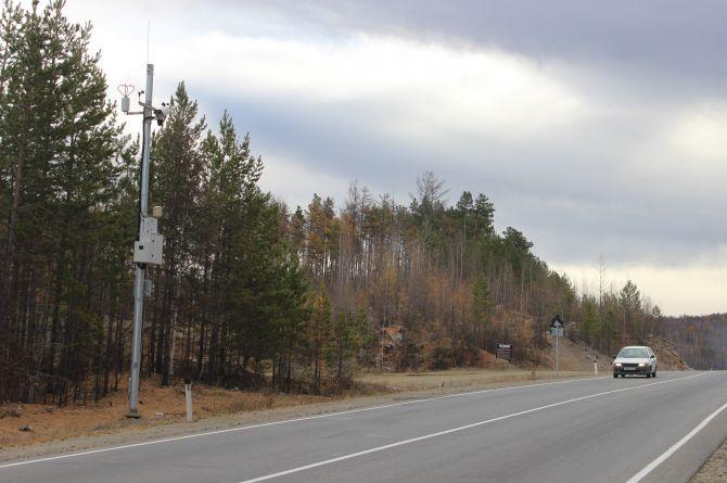 В преддверии зимы трассы Забайкалья были оборудованы автономными метеостанциями